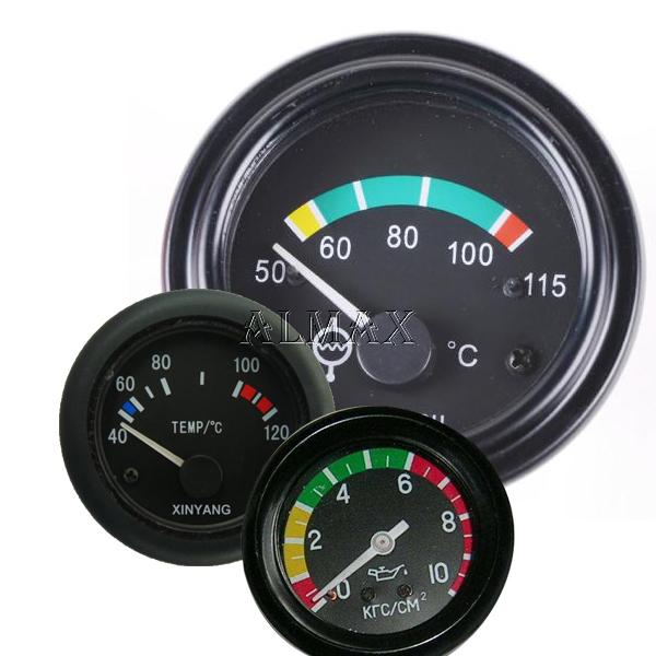 komatsu dozer excavator oil water temperature gauge