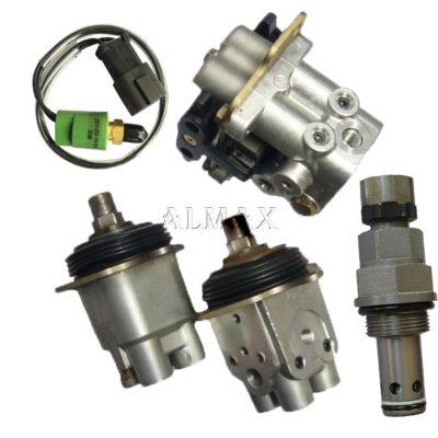 komatsu excavator sensor valve