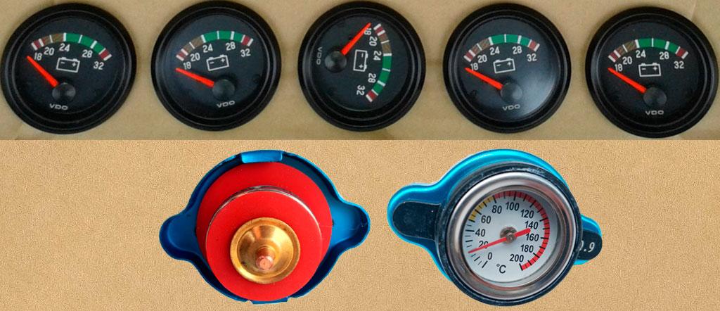 komatsu gauge