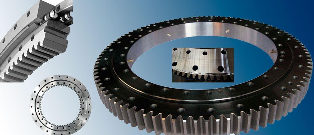 ring gear, ring bearing, slewing ring bearing, swing bearing, turntable bearing