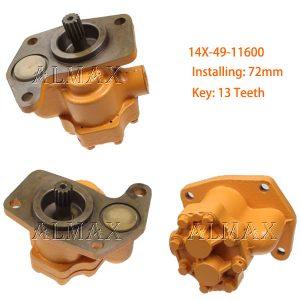 komatsu pump 14X-49-11600